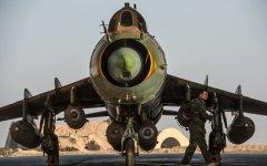 Сирийские правозащитники сообщили о сбитом под Алеппо военном самолете