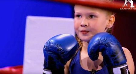 Девочка-боксер из Казахстана поразила американскую публику