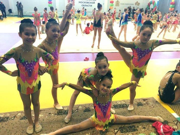 Юные гимнастки из Актау приняли участие в турнире «Мартовская капель»