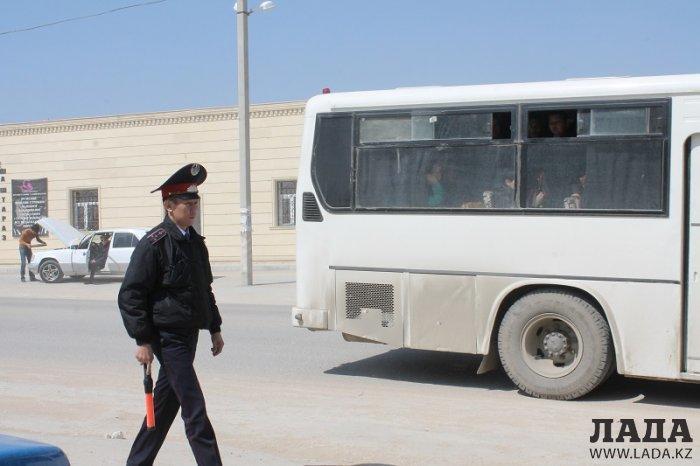 В Мунайлинском районе провели операцию «Автобус»