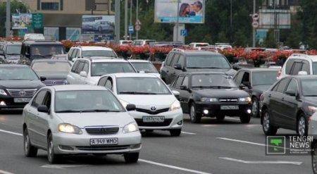 В Казахстане налог на старые авто предлагают сделать больше, чем на новые