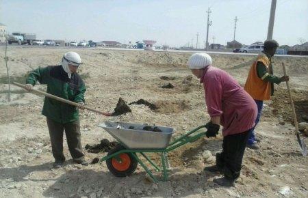 Тлек Кушмаганбетов: На озеленение Актау выделено 487 миллионов тенге