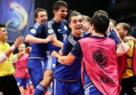 Сборная Казахстана по футзалу претендует на звание лучшей команды мира
