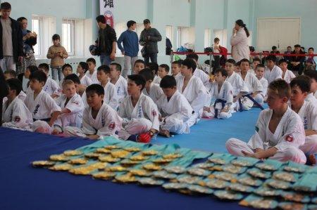 В Актау прошел городской открытый чемпионат по ашихара-каратэ
