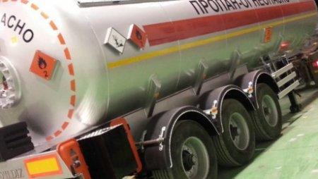 Через казахстанско-российскую границу пытались провезти 20 тонн жидкого газа