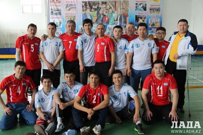 Команда Мангистау занимает третью позицию в стартовавшем чемпионате Казахстана по волейболу сидя