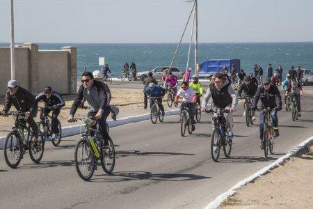 Велопробег в честь 20-летия АО «НСК». Навстречу ветру!