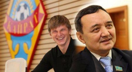 """В """"Кайрате"""" возмущены заявлением Тиникеева о зарплате Аршавина"""
