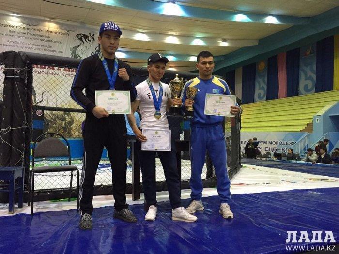 Спортсмены из Мангистау завоевали три медали на Кубке Казахстана по жекпе-жек