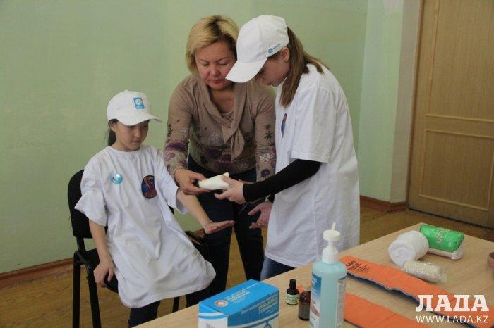В Актау прошел девятый городской слет юных спасателей