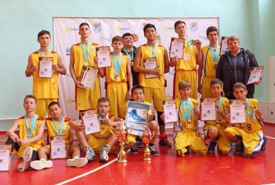 В играх Мангистауской школьной баскетбольной лиги объявлены победители