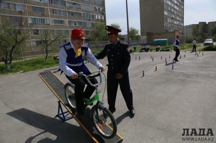 В Актау прошел городской слет юных инспекторов дорожного движения