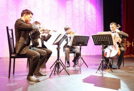 В Актау прошел концерт струнного квартета имени Газизы Жубановой