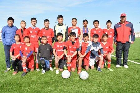 Команда из поселка Курык победила в чемпионате области по футболу среди юношей 2001 года рождения