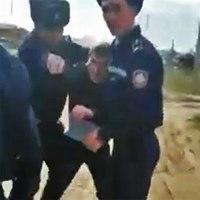 Полицейских-беспредельщиков сняли на видео в Кокшетау