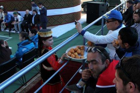 Победителем областных соревнований «Қазақстан Барысы» стал батыр из Актау Нурдаулет Жарылгапов