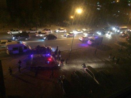 На пешеходном переходе сбили молодого парня. 28-3 ВИДЕО