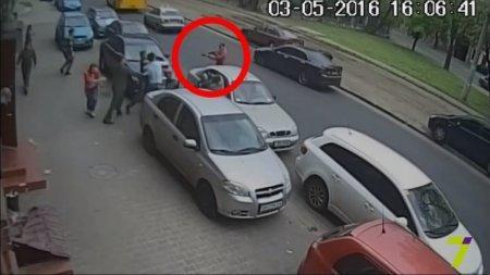 Расстрел журналистов в Одессе попал на видео