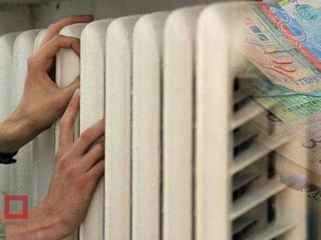 В Казахстане запретят отключать тепло за неуплату