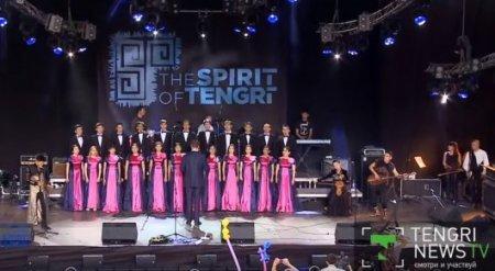 Появилось видео мистического номера памяти Батырхана Шукенова на The Spirit of Tengri