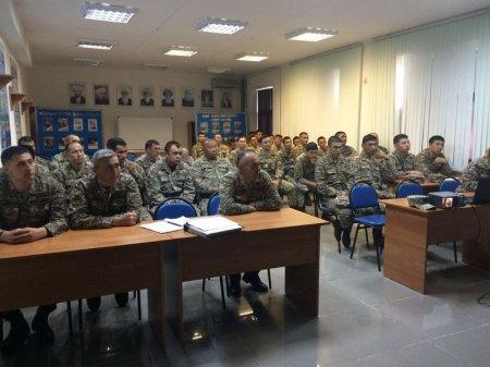 Профилактику правонарушений среди военнослужащих обсудили в Актау
