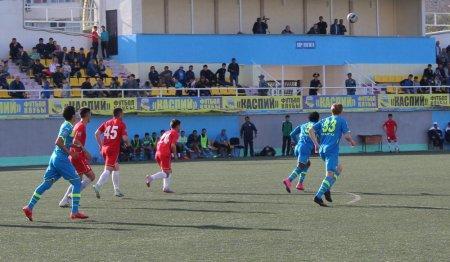 Футбольный клуб «Каспий» обыграл команду «Байконур» из Кызылорды со счетом 3:0