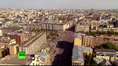 МВД: Свыше 700 тыс. человек приняли участие в шествии «Бессмертного полка» в Москве