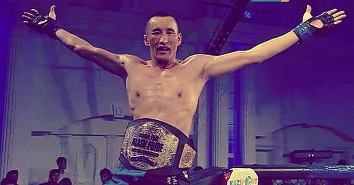 Боец Шынгыс Кайранов из Бейнеу стал чемпионом Казахстана по смешанным боям