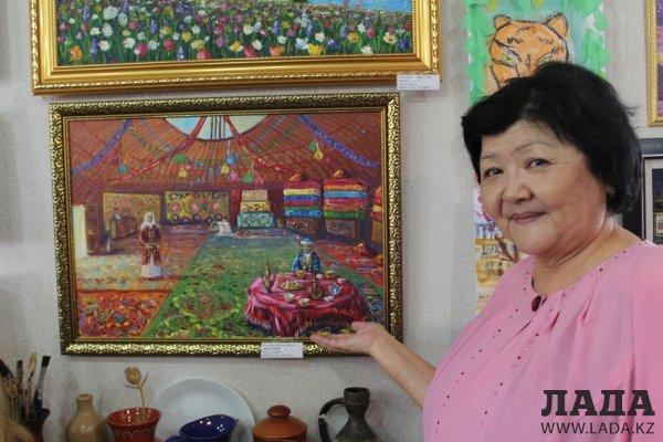 В Актау прошла выставка картин «Пристань талантов»
