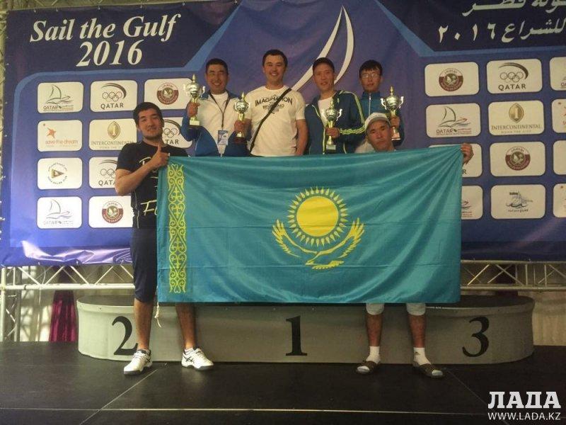 Мангистауская команда по парусному спорту завоевала четыре медали на международной регате в Катаре