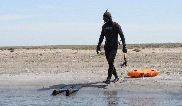 Об удивительной фауне Каспийского моря рассказали рыбаки и подводные охотники Мангистау