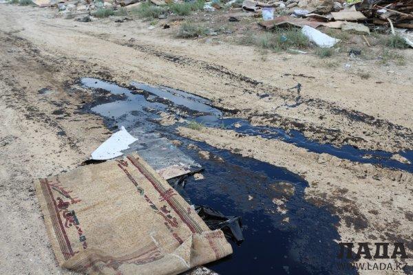 Природоохранная прокуратура Мангистау разыскивает организаторов свалки в районе промзоны