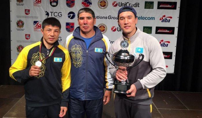Адильбека Ниязымбетова признали лучшим боксером международного турнира в Литве