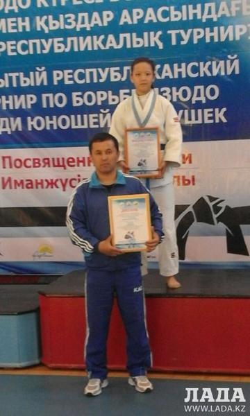 Дзюдоисты из поселка Жынгылды выиграли три медали на республиканском турнире в Павлодарской области