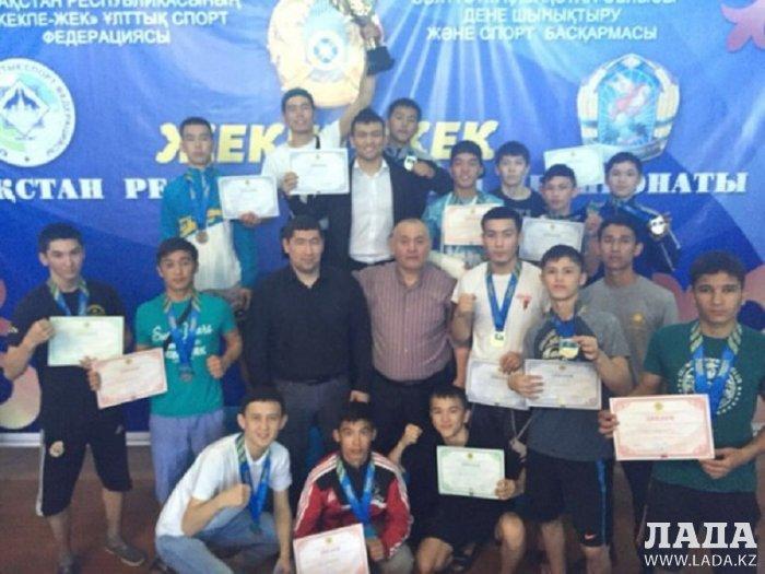 Спортсмены из Мангистау завоевали первое общекомандное место на чемпионате Казахстана по жекпе-жек
