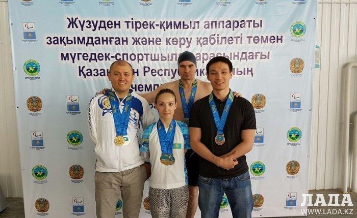 Пловцы из Мангистау завоевали пять медалей на чемпионате Казахстана в Таразе