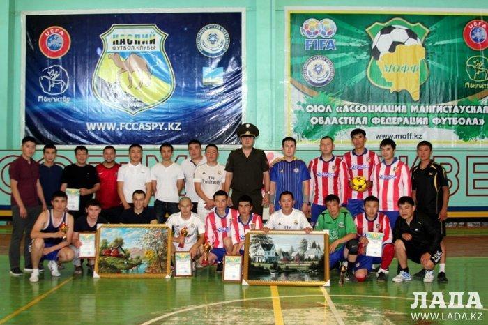 Пожарные Актау организовали турнир по мини-футболу в честь 25-летия Независимости Казахстана