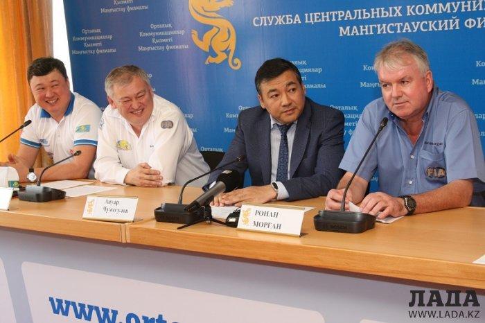 На набережной Актау дан старт «Ралли Казахстан-2016»