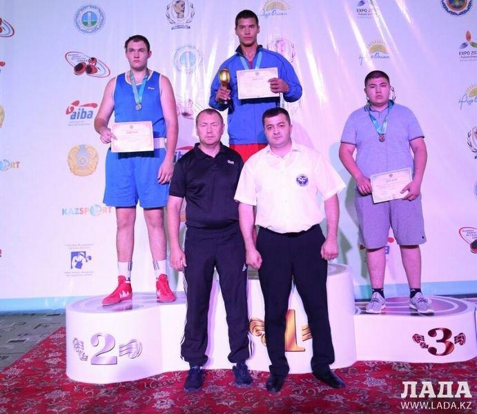 Весь комплект медалей привезли с чемпионата Казахстана мангистауские боксеры