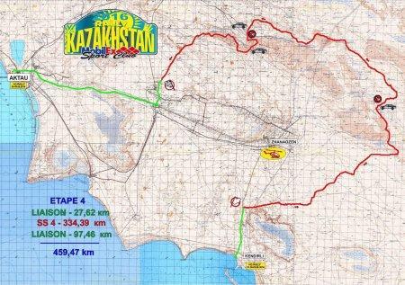 Юрий Сазонов: Третий этап «Ралли Казахстан-2016» мы прошли быстро и без ошибок