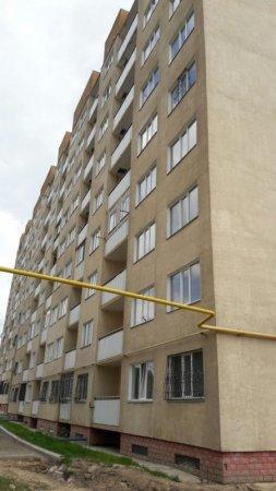 """Застройщик прокомментировал ситуацию с накренившимся домом в микрорайоне """"Алгабас"""""""