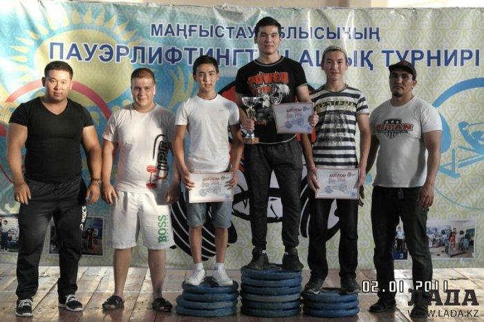 Пауэрлифтеры Мангистау боролись за чемпионский титул в 25 весовых категориях