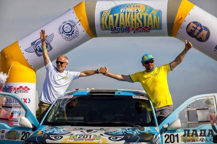 В Актау чествовали участников «Ралли Казахстан-2016»