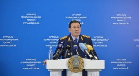 Глава МВД доложил об обстановке в Актобе