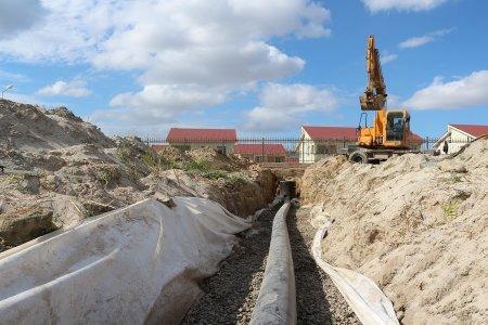 Жители Актау обеспокоены строительством дренажной системы со сливом в море