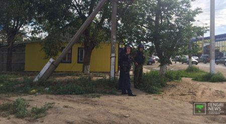 Жителей Актобе просят оставаться дома. Спецоперация продолжается