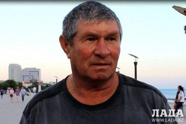 Куралбек Камалов: Рейд по борьбе с незаконным предпринимательством на побережье Актау проводится ежедневно