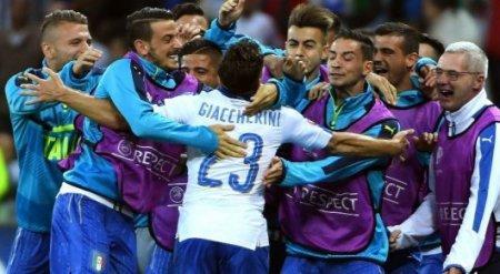 В центральном матче дня на Евро-2016 Италия обыграла Бельгию
