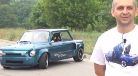 """Внутрь """"Запорожца"""" установили мотор от BMW: Вот, что получилось"""
