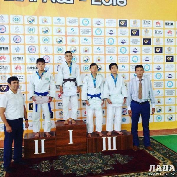 Дзюдоист из Актау Бексултан Картбай стал бронзовым призером чемпионата Казахстана